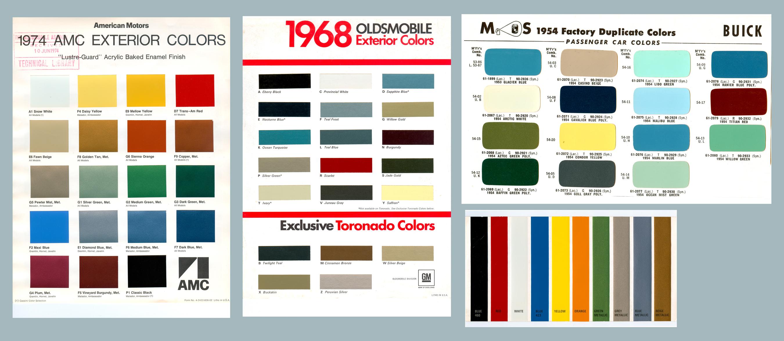 Leyland paints colour chart - Colour Car Paint Chart Advertisements