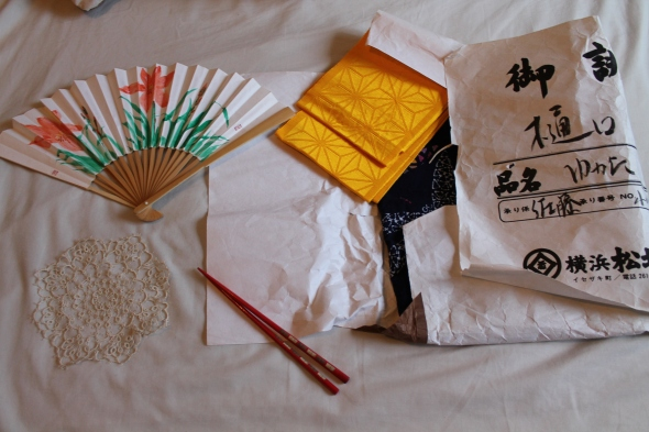 four presents from Japan